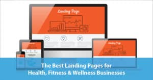 Landing pages on devices